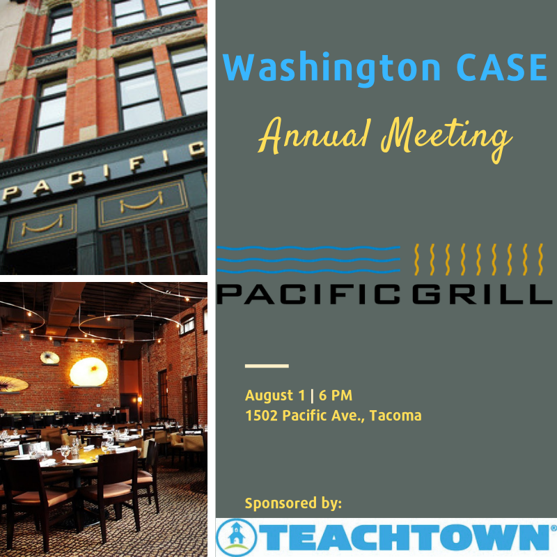 WA CASE Annual Meeting Flyer